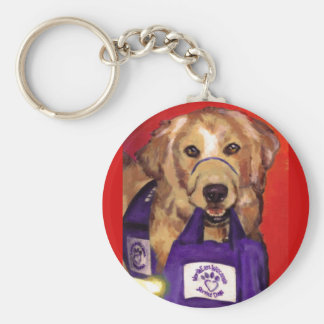 Northeast Wisconsin Service Dogs Key Ring