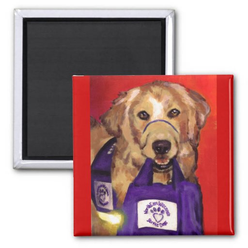 Northeast Wisconsin Service Dogs Refrigerator Magnets