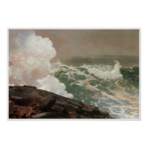 Northeaster, 1895 Winslow Homer Posters