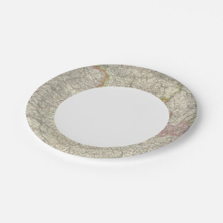 Northeastern France 7 Inch Paper Plate