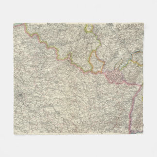 Northeastern France Fleece Blanket