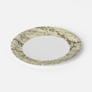 Northeastern United States 7 Inch Paper Plate