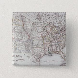 Northen United States 15 Cm Square Badge