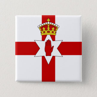Norther Ireland ulster flag 15 Cm Square Badge