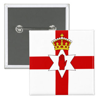 Norther Ireland ulster flag Buttons