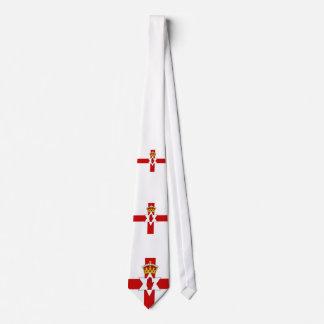 Norther Ireland ulster flag Tie