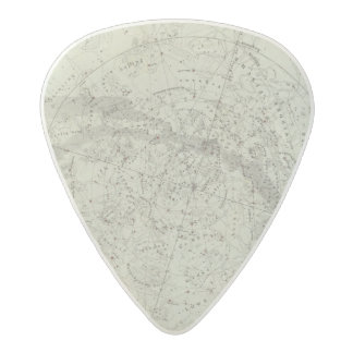 Norther Night Sky map Acetal Guitar Pick