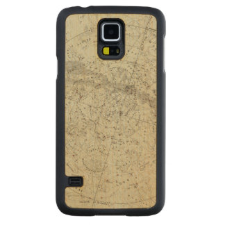 Norther Night Sky map Carved Maple Galaxy S5 Case