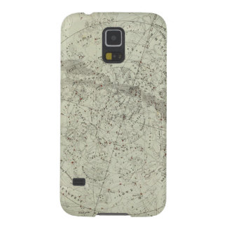 Norther Night Sky map Galaxy S5 Covers