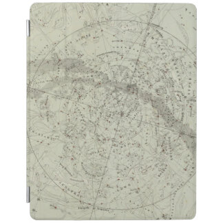 Norther Night Sky map iPad Cover