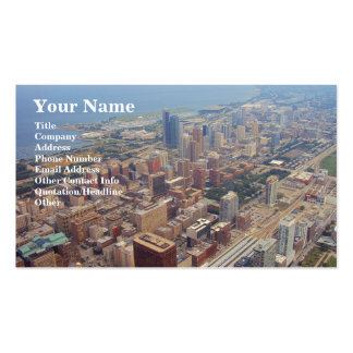 Northerly Island Park, Chicago Business Card Templates