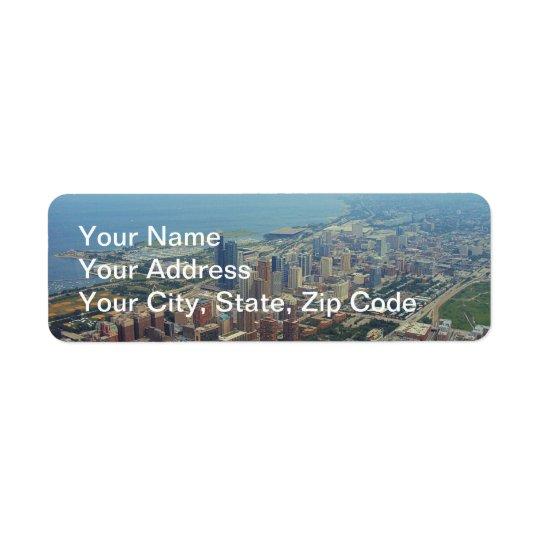 Northerly Island Park, Chicago Return Address Label