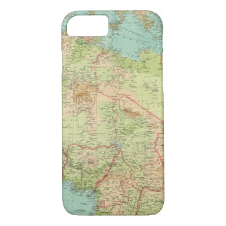 Northern Africa with shipping routes iPhone 7 Case
