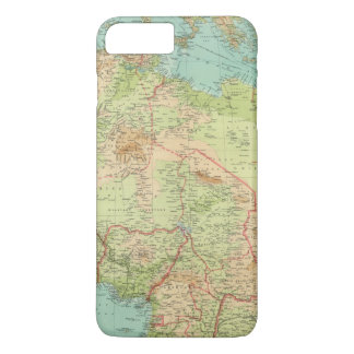 Northern Africa with shipping routes iPhone 8 Plus/7 Plus Case