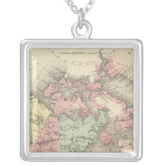 Northern America Silver Plated Necklace