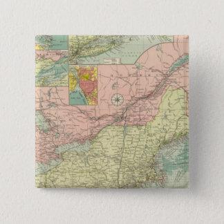 Northern American Atlantic ports 15 Cm Square Badge