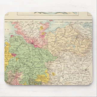 Northern and Central Germany Mouse Pad