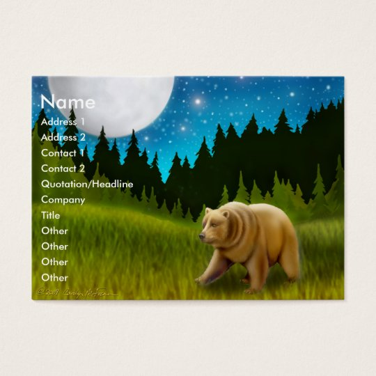 Northern Bear Profile Card