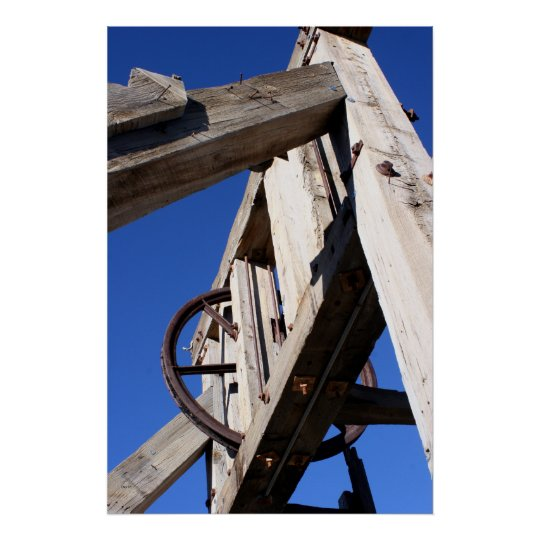 Northern Belle Headframe Poster