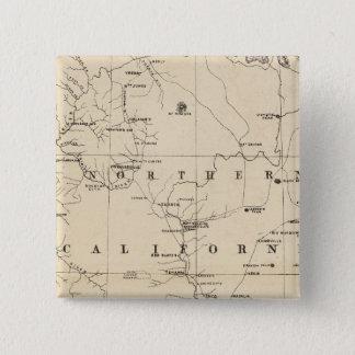 Northern California 15 Cm Square Badge