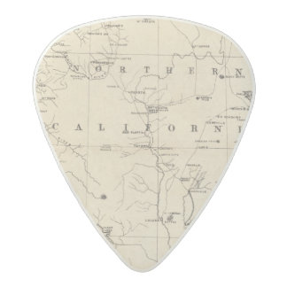 Northern California Acetal Guitar Pick