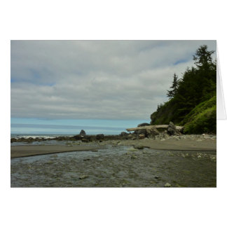 Northern California Coastline from Redwood Park Greeting Card