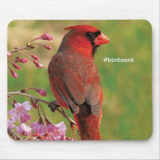 Northern Cardinal 2 Mouse Mat