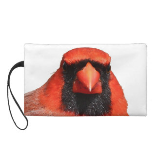 Northern Cardinal Wristlet