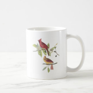 Northern Cardinal by Audubon Coffee Mug