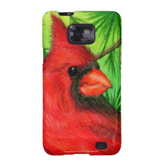 Northern Cardinal Samsung Galaxy S Covers