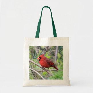 Northern Cardinal Photo Budget Tote Bag