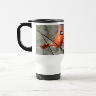 Northern Cardinal Travel Mug