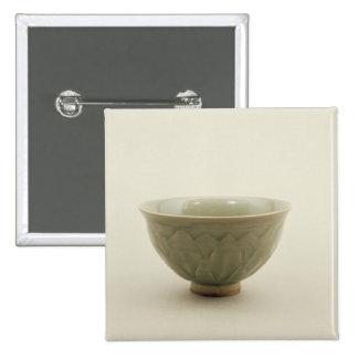 Northern celadon bowl 15 cm square badge