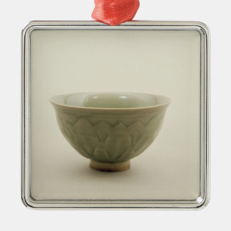 Northern celadon bowl christmas ornament