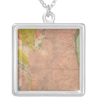 Northern Central Colorado 2 Silver Plated Necklace