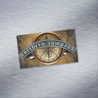 Northern Compass Magnetic Business Cards