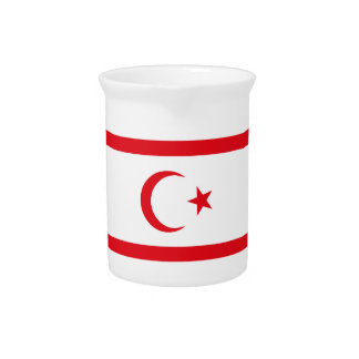 Northern Cyprus Flag Pitcher