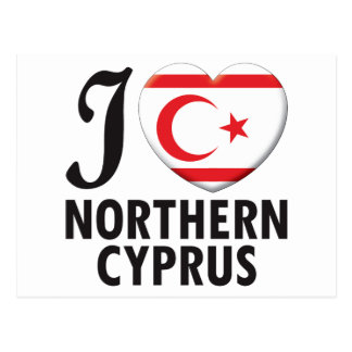 Northern Cyprus Love Postcard