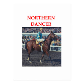 northern dancer post card