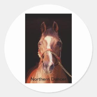 Northern Dancer...World's Greatest Stallion Round Sticker