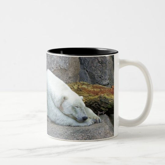 Northern Dreams Two-Tone Coffee Mug