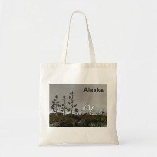 Northern Edge Antlers Tote Bags