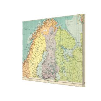 Northern European ports Canvas Print