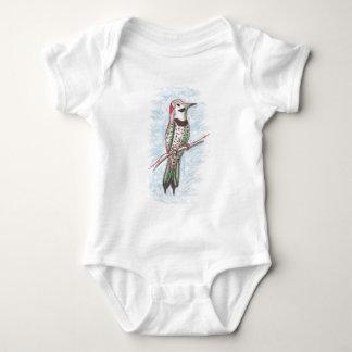 Northern Flicker Baby Bodysuit