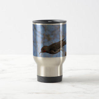 Northern Flicker Take Off Stainless Steel Travel Mug
