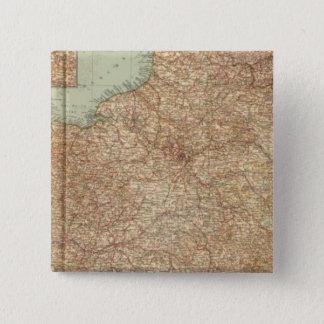 Northern France 3234 15 Cm Square Badge