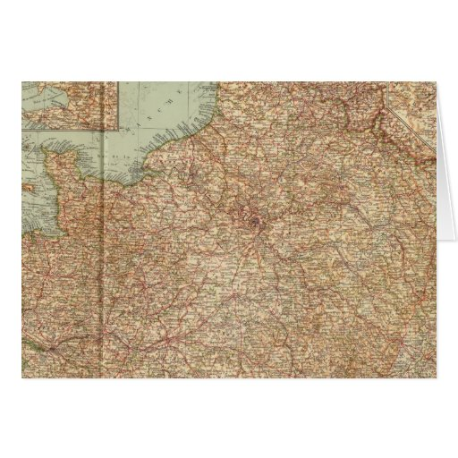 Northern France 3234 Greeting Card