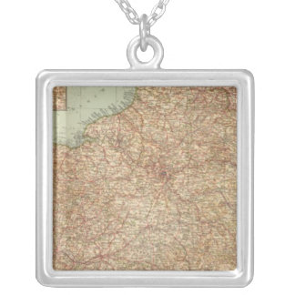 Northern France 3234 Square Pendant Necklace