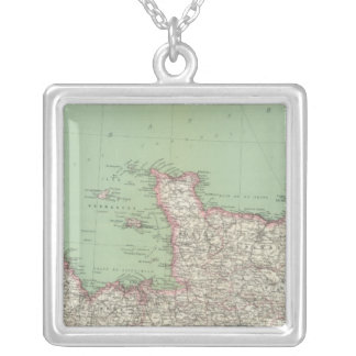 Northern France Silver Plated Necklace