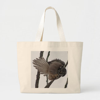 Northern Hawk Owl 6 Canvas Bags